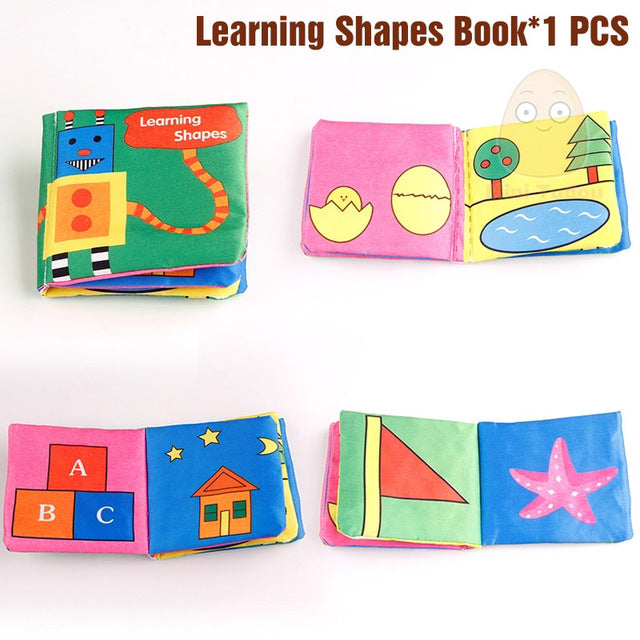 Cloth Learning Cognize Quiet Book