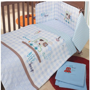 Embroidery Car Series Bedding Set