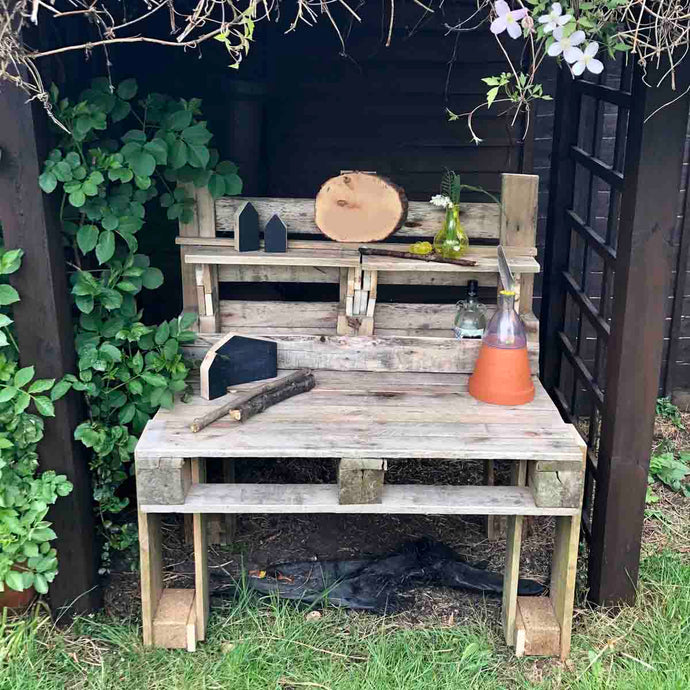 Guest blog: How to make your own basic mud kitchen