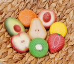 Fruit- sensory play stones