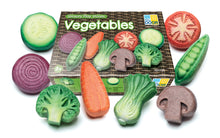 Load image into Gallery viewer, Vegetables - sensory play stones