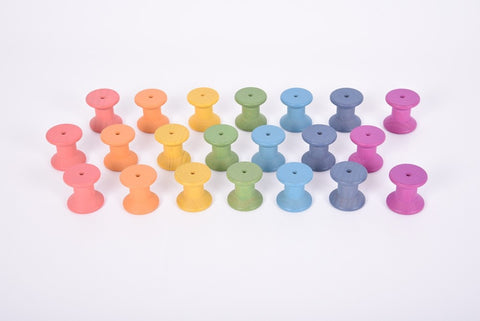 Rainbow spools (set 7)