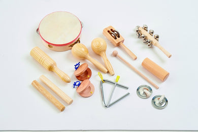 Percussion instruments (10 to choose from)
