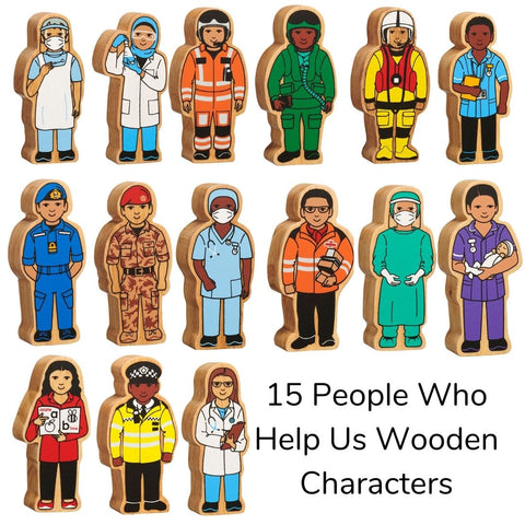 Lanka Kade new emergency people who help us figures - set of 15