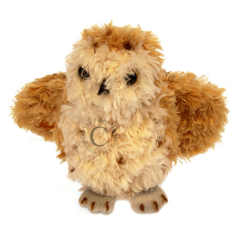 Tawny owl finger puppet - coming soon!
