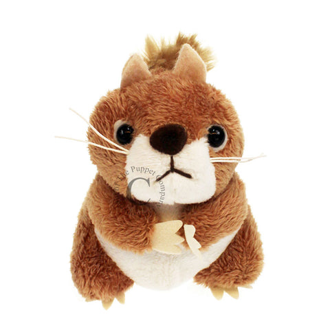 Red squirrel finger puppet - coming soon!