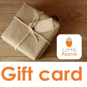 Little Acorns Gift Card