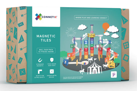 Connetix tiles - ball run