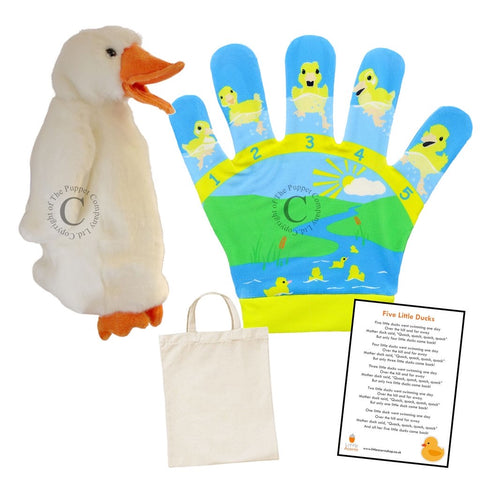 Five Little Ducks song bag