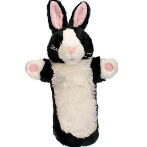 The Puppet Company long sleeves black and white rabbit puppet