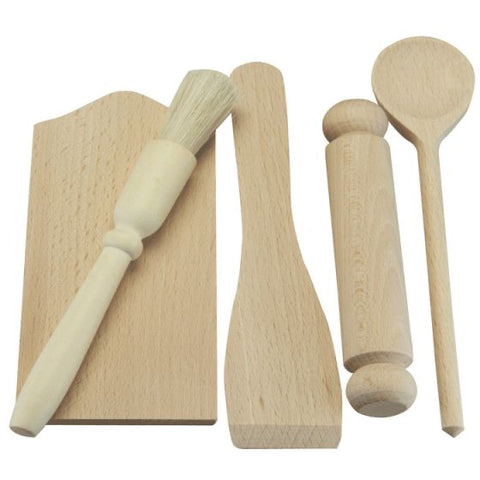 Beech kitchen / playdough set