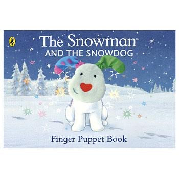 The Snowman and the Snow Dog finger puppet book