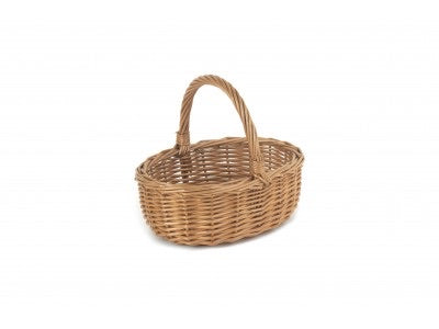 Child's oval shopping basket