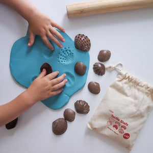 Eco friendly tactile shells