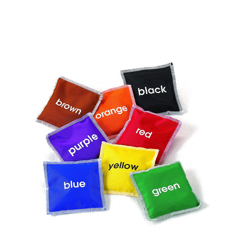 Colour name bean bags