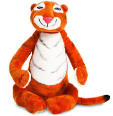 Tiger who came to tea soft toy