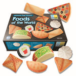 Foods of the world - sensory play stones