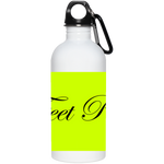 "WATER GODDESS ""6 FEET PLEASE""  20 oz. Stainless Steel Water Bottle"
