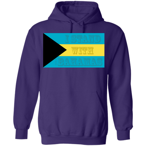 'I Stand With The Bahamas' Water Goddess Pullover Hoodie 8 oz.