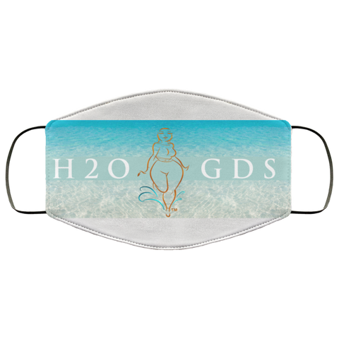 """H2OGDS"" Water Goddess Face Mask"