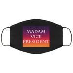 MADAM VICE PRESIDENT Face Mask