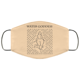 WATER GODDESS ADINKRA SYMBOLS Face Mask