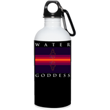 "Water Goddess ""Reflections of Self"" 20 oz. Stainless Steel Water Bottle"