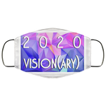 """2020 Vision(ary)"" Water Goddess Face Mask"