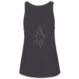"Ladies' ""Water Goddess 'Worthy'"" Relaxed Jersey Tank"
