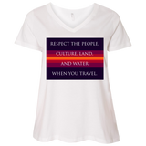 "Water Goddess ""Rules of the Road"" V-Neck T-Shirt"