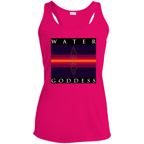 "Water Goddess ""Reflections of Self"" Racerback Moisture Wicking Tank"