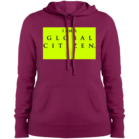 """GLOBAL CITIZEN"" Ladies' Pullover Hooded Sweatshirt"