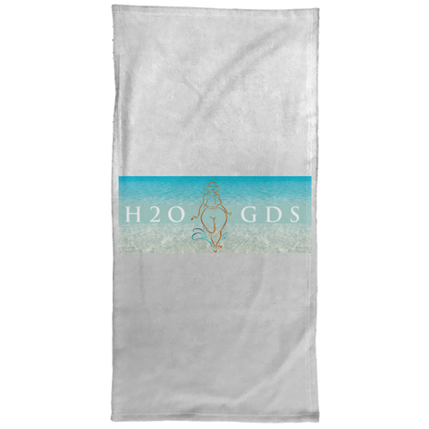 "Water Goddess ""H2OGDS"" Hand/Golf/Gym Towel - 15x30"