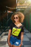 BROWN SUGAR Ladies' V-Neck T-Shirt