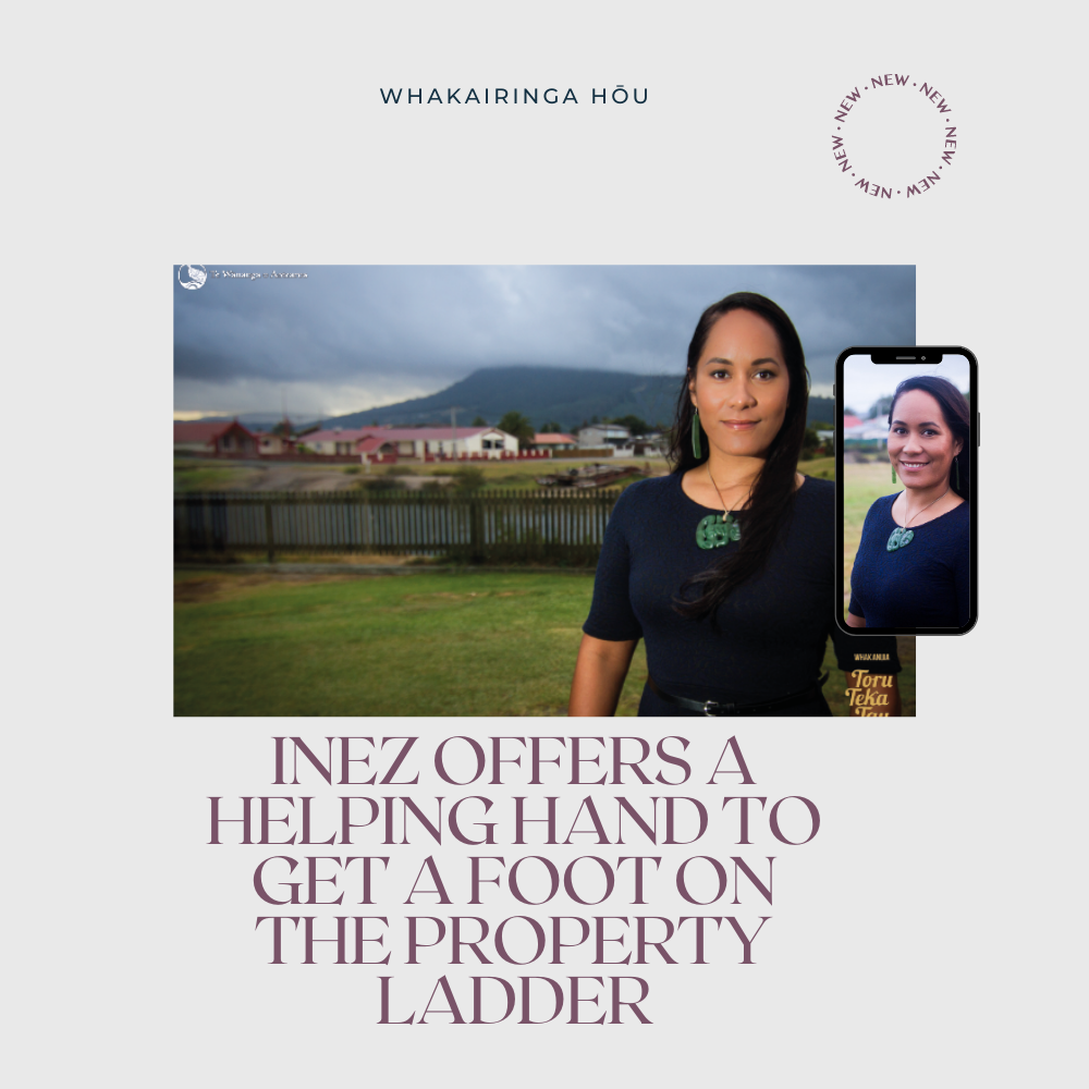 Inez offers a helping hand to get a foot on the property ladder