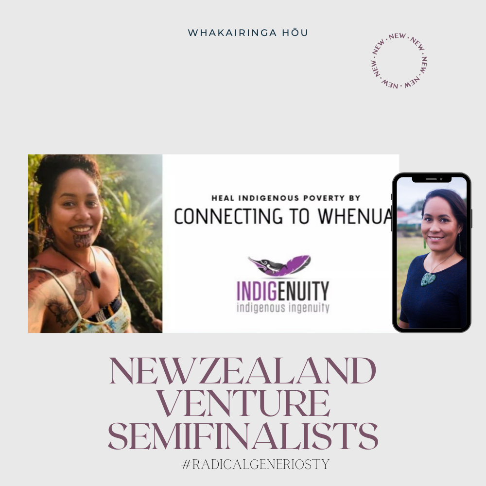 Indigenuity Home Ownership Venture - SheEO Semi Finalist