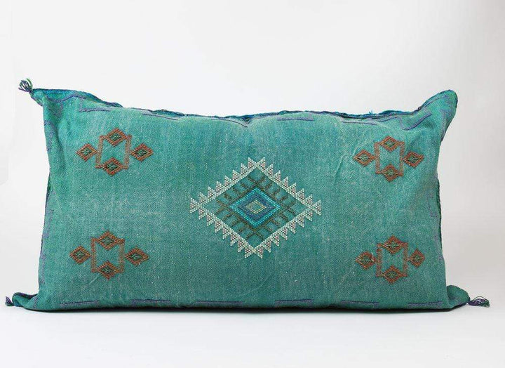 "Bryar Wolf Handmade Decorative Throw Pillows With Insert / 22"" x 38"" EMIR"