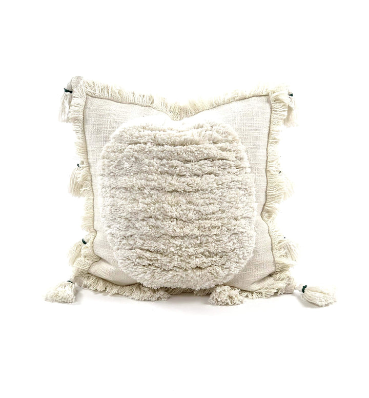"Bryar Wolf Handmade Decorative Throw Pillows With Insert / 20"" x 20"" KIAAN"