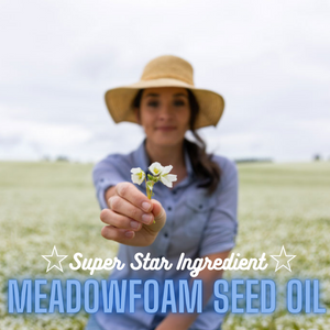 Diminish Stretch Marks. Meadowfoam Seed Oil to the rescue!