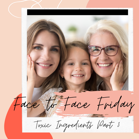 Three Generations of women smiling introducing Face to Face Friday- Part 3