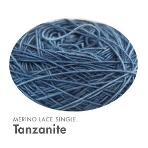 Cowgirl Blues Merino Lace Single