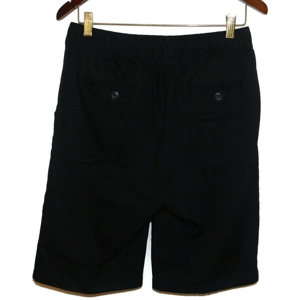 Men's Galaxy By Harvic Cotton/Spandex Stretch Slim Fit Flex Shorts (Med) Black