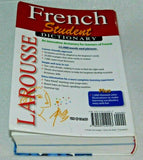 Larousse Student Dictionary French-English/English-French (French and English)