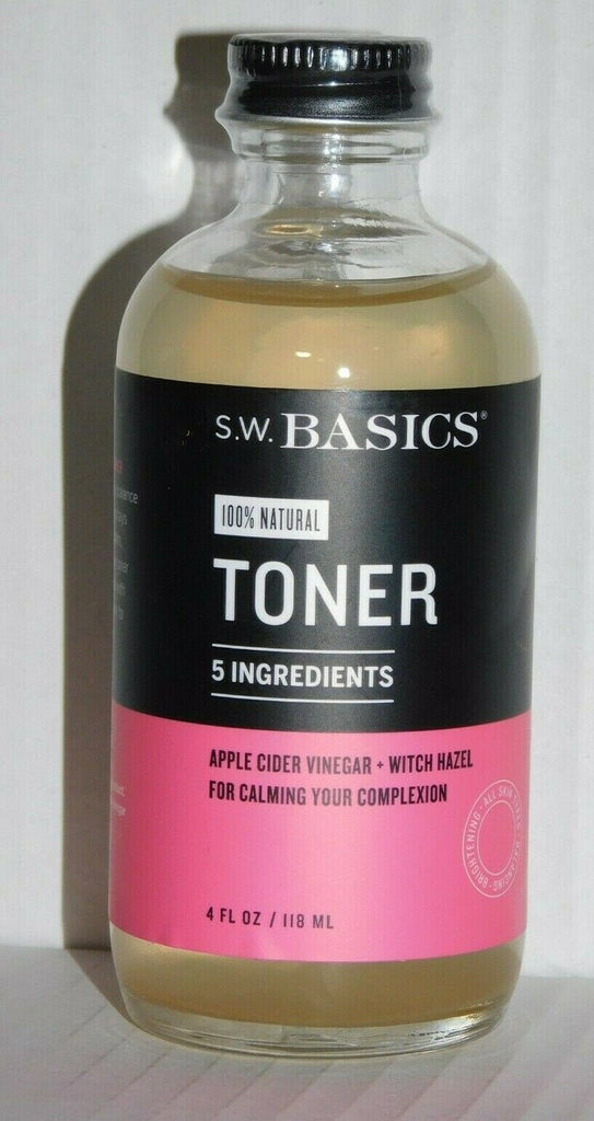 Toner 100% Natural S.W. Basic 4 Fl Oz In Glass Bottle