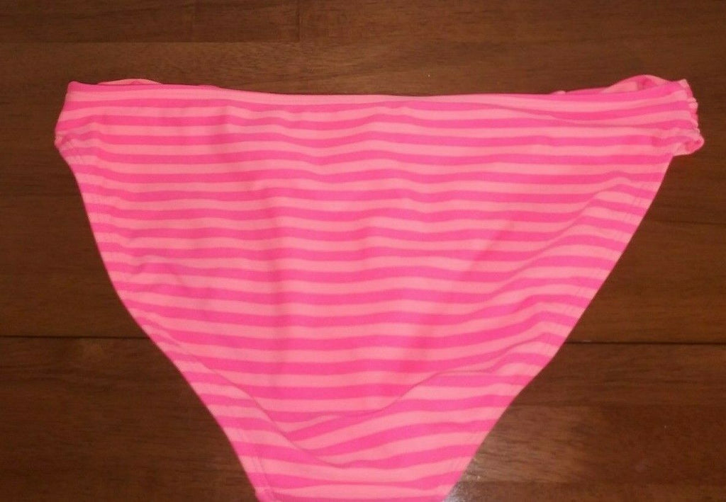 Old Navy Swimwear Bikini Bottom Multi-colored Orange on Orange Ruffle Sides Md
