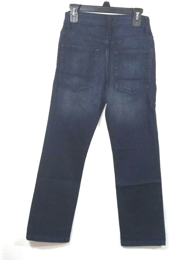 Cat & Jack Boys Straight Stretch Fit Jeans Pants 10 Slim Blue