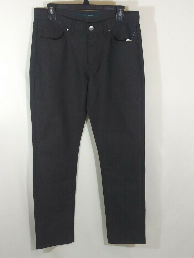 Perry Ellis Men's Slim Fit Denim Pants Size 32 x 32 Dark