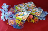 4 Bags of Ja-Ru Basix Double Jax 16 Jacks & 2 Balls Ages 4+