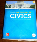 Succeeding in Civics: Companion Work Text for Mastering Florida Assessments - FL