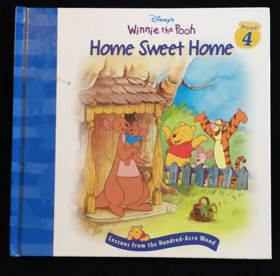 Disney Winnie the Pooh Home Sweet Home Book 4 by Nancy Parent  Hundred-Acre Wood